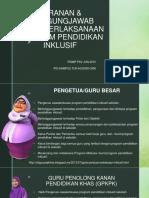03 Peranan & Tanggungjawab Dalam Perlaksanaan Program Pendidikan Inklusif