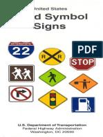Us Road Symbol Signs
