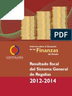 Sistema General de Regalías 2012-2014