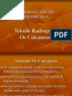 Pertemuan IV (Calcaneus)