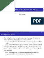 Olken Lecture Notes Selection Moral Hazard Election