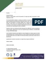 Carta Formato Patrocinio Connexo 2015
