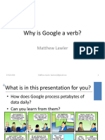 Talk - Why is Google a Verb