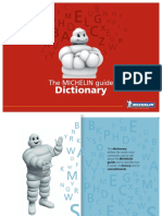 Michelin Dictionary