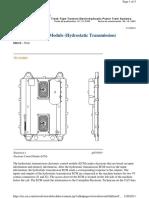 ECM (Hydrostatic Transmission)