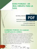 CARBONO-POROSO