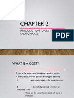 Ch.2 - Intro Cost Terms