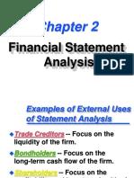 Financial Statement Analysis-CH2