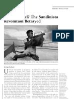 Et Tu, Daniel, The Sandinista Revolution Betrayed - Nacla 2009 March-April