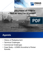 Redeployment of FPSOs - Not as Easy as It Looks by Jon Dunstan