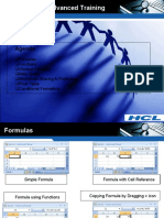 Excel Basic and Advanced Training