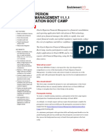 HFM Boot Camp Datasheet