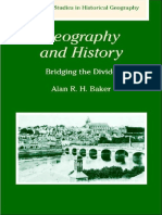[Alan R. H. Baker] Geography and History Bridging(B-ok.org)
