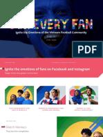 Vietnam Football Fan Custom Segments on FB