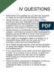 Nqt IV Questions