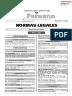 Normas Legales Del DIA 13 DE FEBRERO DEL 2018