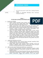 2-Spesifikasi teknis (Cut & Fill + DPT) UB_Dieng