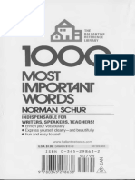 1000 Most Important Words Book pdf
