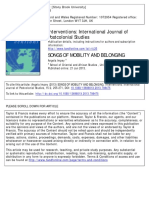 Interventions Volume 15 Issue 2 2013 [Doi 10.1080%2F1369801X.2013.798475] Impey, Angela -- SONGS of MOBILITY and BELONGING