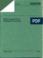Voith Diwamatic Getriebe 843k