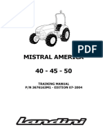 -Landini Mistral America 40-45-50 Tractor Workshop Service Repair Manual 1