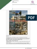 """""""Archeologia delle città greche"""""""