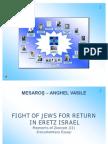 JEWISH MOVEMENT TO RETURN IN ERETZ ISRAEL (PPT)