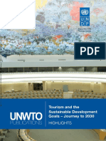 Tourism and the Sustainable Development Goals – Journey to 2030, Highlights