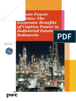 GE-PwC-Private Power Utilities-Economic Benefits of Captive Power