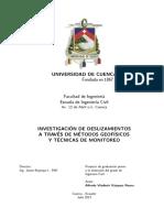 Investigacion de Deslizamientos Mediante Métodos Geofisicos
