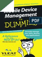 Sybase MobileDeviceManagementForDummies Yucat