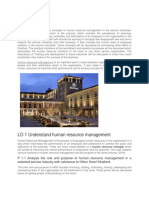 269566149 Unit 9 Human Resource Management for Service Industries