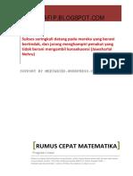 Rumus Cepat Matematika - Program Linear.pdf