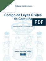 BOE-150 Codigo de Leyes Civiles de Cataluna