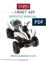TGB Target 400 Service Manual