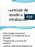Técnicas de Intubación
