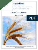 Agri Report - 14 Feb 2018