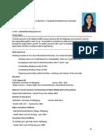 CV FOR IIUB