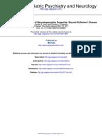 Dementia Profiles on Neuropsych
