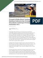 Prospek & Risiko Bisnis Tambang Batubara Indonesia Dan Strategi Perusahaan Tambang & Strategi Perbankan 2017 _ Mith Abhipraya _ Pulse _ LinkedIn