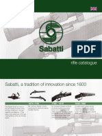 Sabatti Rifle Catalogue