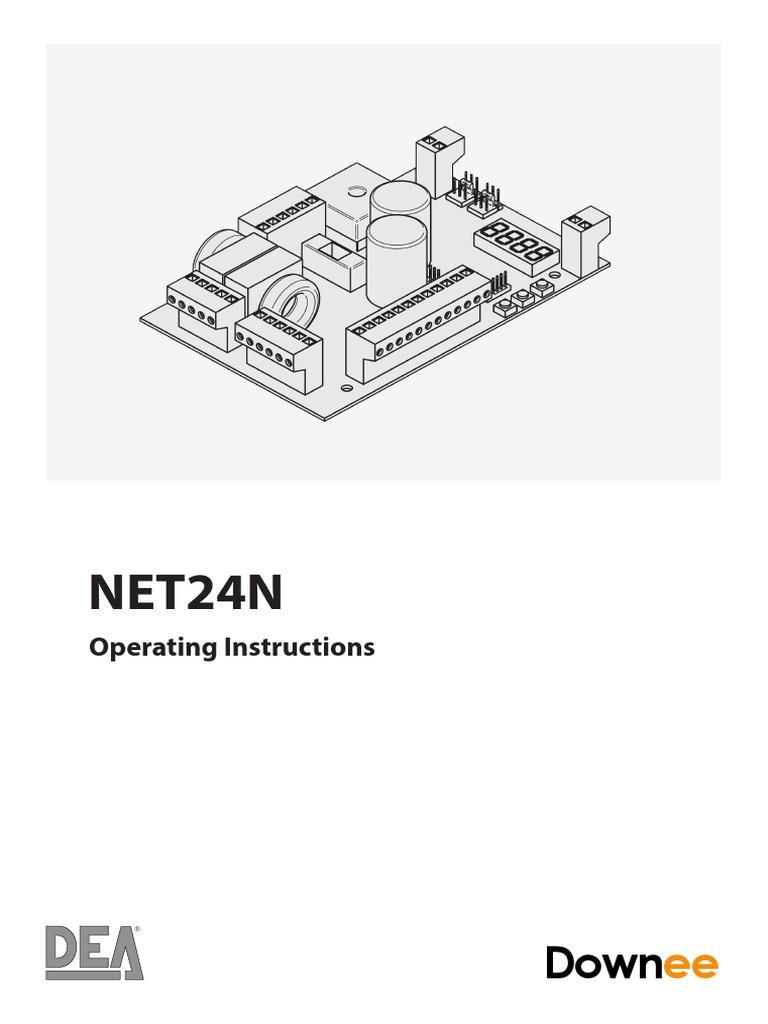 DEA NET24n Programming Instructions