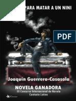 Guerrero Casasola Joaquin - Complot para matar a un nini.epub