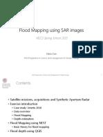 [Venice University] Flood Mapping Using SAR Images