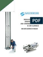 SILVERSON Mixer Industriali