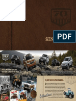 Jeep 70th Anniversary Brochure