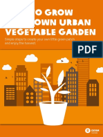 How to Grow Your Own Urban Vegetable Garden