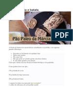 Pão de Aveia e Batata