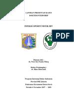 Case Report Infeksi Oportunistik Hiv