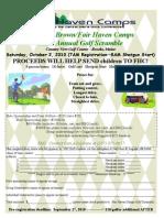 FHC Golf Tourney Registration Form